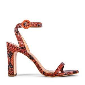 Raye snakeskin heels